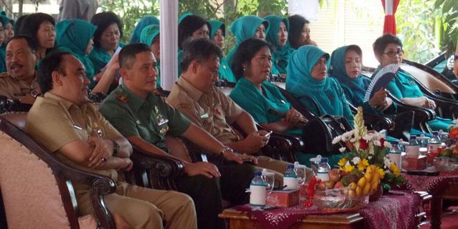 Dandim O733 Kota Semarang Beserta Muspida Kota Semarang Menerima Tim Penilai Lomba Posyandu Tingkat Nasional TA. 2015