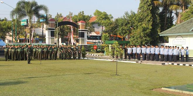 Kodim 0725/Sragen Gelar Upacara Peringatan Hari Kebangkitan Nasional Ke-107
