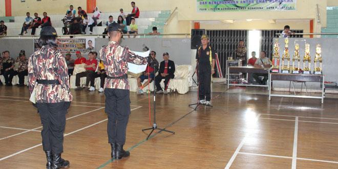 Dandim 0733 Kota Semarang Membuka Pertandingan Futsal