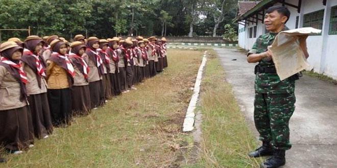 Pembinaan Pramuka Siswa SMK Tunas Harapan Plupuh