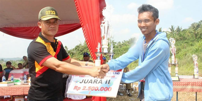Dandim 0733 Kota Semarang Menghadiri Festival Layang Layang