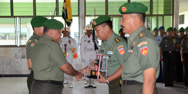 Jabatan Staf Ahli Pangdam IV/Diponegoro Bidang Ekonomi dan Kazidam IV/Diponegoro Diserahterimakan