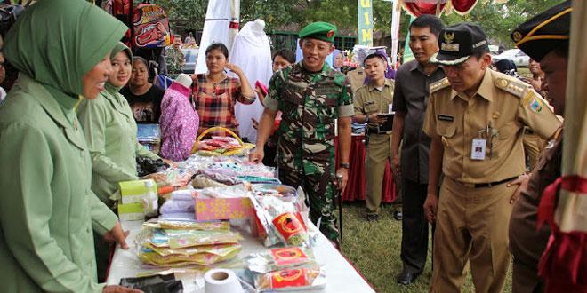 Bazar dan Pasar Murah Kodim Kudus Diserbu Masyarakat