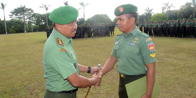 Tujuh Prajurit Korem 073/Makutarama Dapat Pengargaan