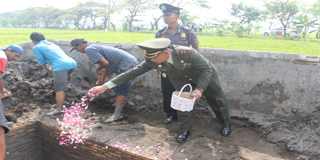 Dandim 0725/Sragen Lelayu Meninggalnya AKBP. Paulus Warseno
