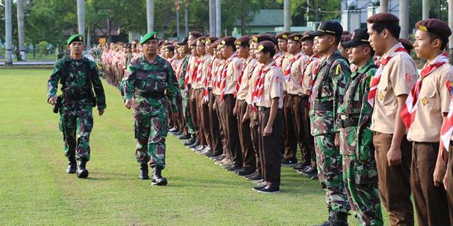 Latihan Bela Negara SMK 75-1 Purwokerto