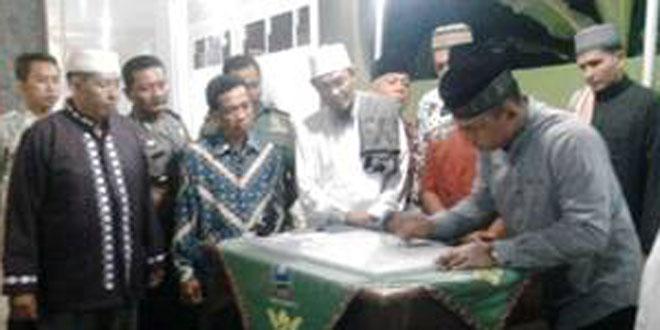 Dandim 0725/Sragen Resmikan Masjid An–Nur Darussalam