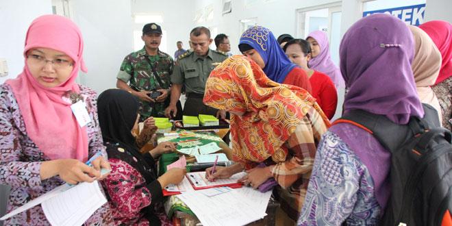 Pencanangan Bhakti Sosial TNI-KB Kesehatan Kodim 0722/Kudus