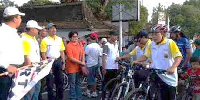 Dandim 0725/Sragen Giat Fun Bike Dalam Rangka Hari Jadi Kab. Sragen yang Ke – 269