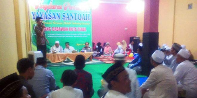 Tasyakuran Peresmian Yayasan Santoaji Cabang Cabawan Kota Tegal