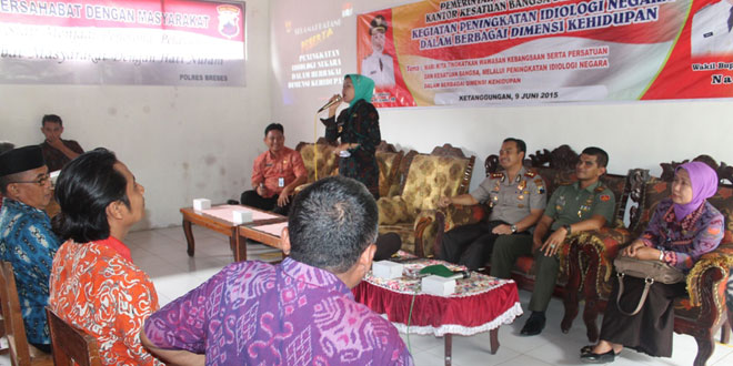 Kegiatan Peningkatan Ideologi Negara Dalam Berbagai Dimensi Kehidupan di Cikeusal Lor
