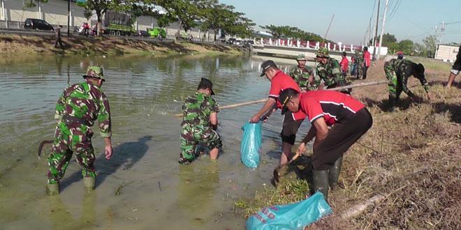 Karya Bhakti Dalam Rangka Gerakan Sungai Bersih dan Sehat