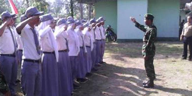 Pembinaan PPBN kepada Siswa SMK Kosgoro