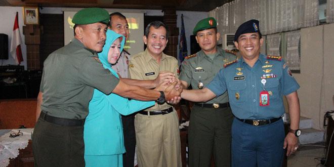 Kodim 0733 Kota Semarang Melaksanakan MOU dengan Dinas Pendidikan Kota Semarang