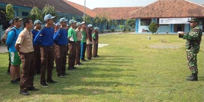 Pembinaan PPBN kepada Anggota PKS SMKN Mondokan