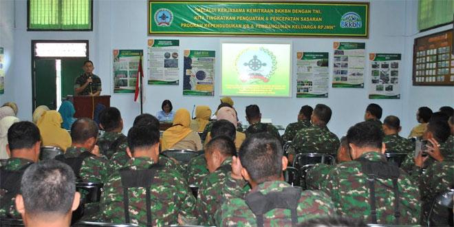 Pencanangan Bhakti Sosial KB Kes Terpadu Dim 0732/Sleman TA 2015