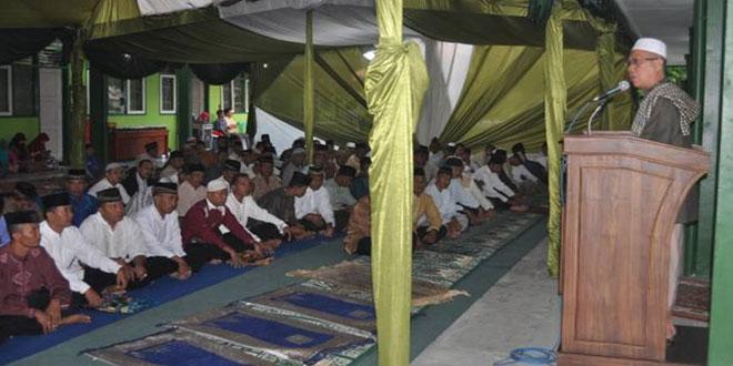 Buka Puasa dan Sholat Tarawih Bersama