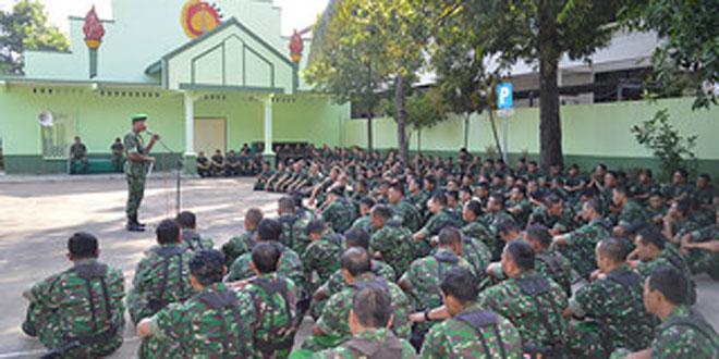 Pembukaan Minggu Militer Kodim 0718/Pati