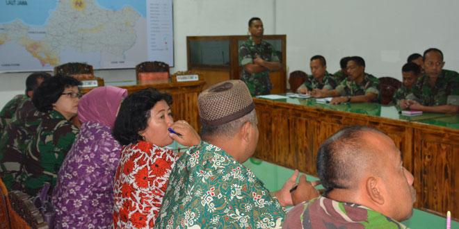 Danrem 073/Makutarama Pimpin Rencana Peringatan Nuzulul Qur'an dan Open House