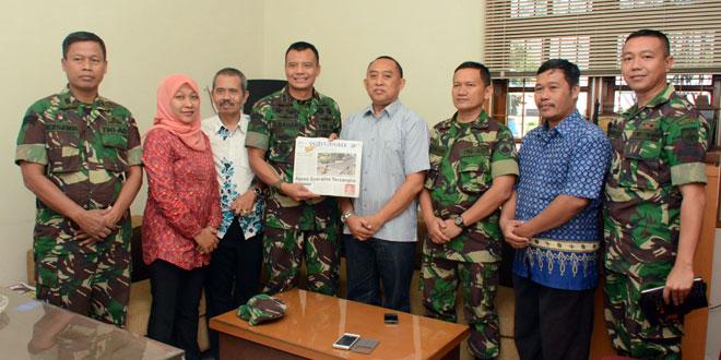 Kapendam IV/Diponegoro Silaturahmi ke Pimpinan Media
