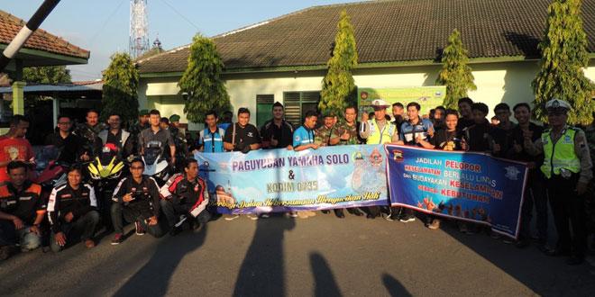 Dandim 0735/Surakarta Memberangkatkan  Aksi Pembagian Takjil Gratis