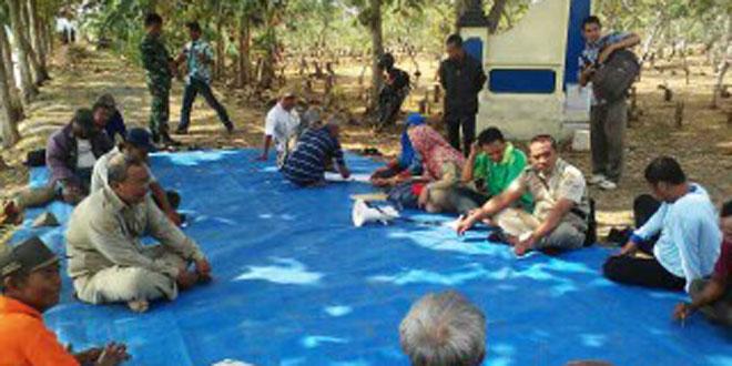 Temu Lapangan Petani & Demo Transplanter Rice