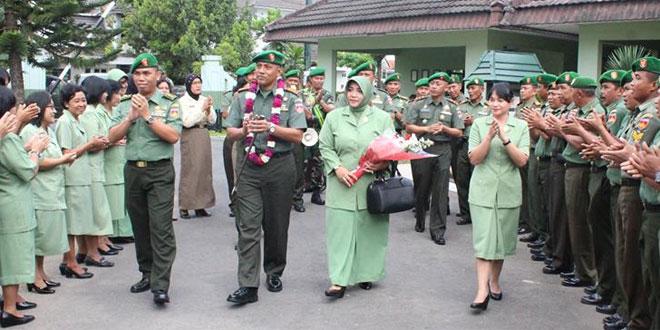 Lepas Sambut Dandim Yogyakarta