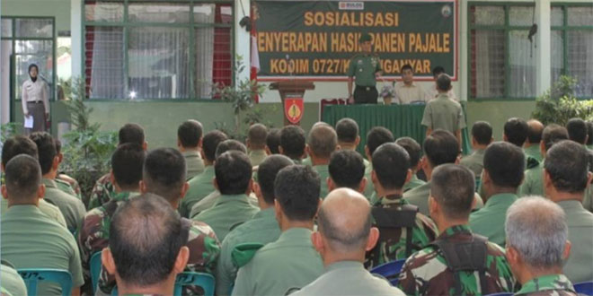 Sosialisasi Penyerapan Hasil Panen di Wilayah Kabupaten Karanganyar