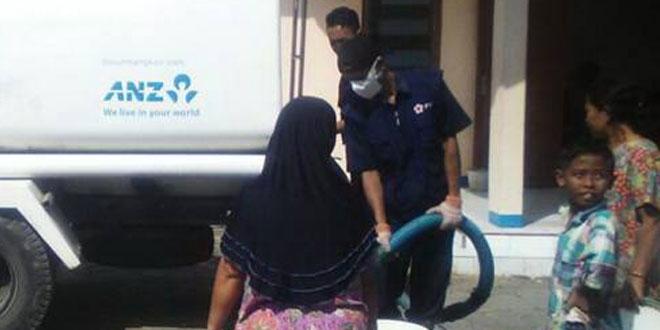 Warga Kreman dan Sigentong Terima Bantuan Air Bersih