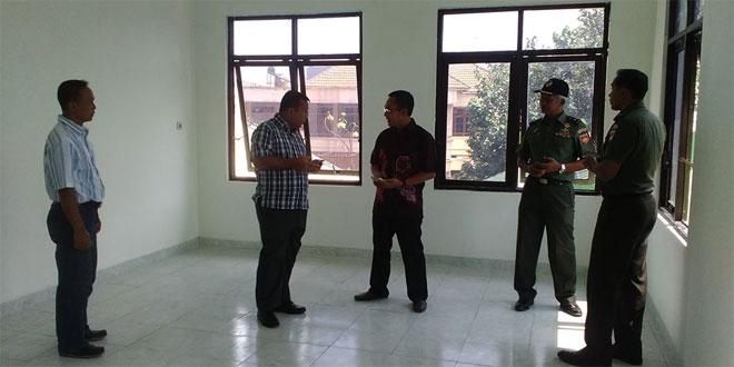 Pangdam IV/Diponegoro Cek Pembangunan Koramil 03 Serengan