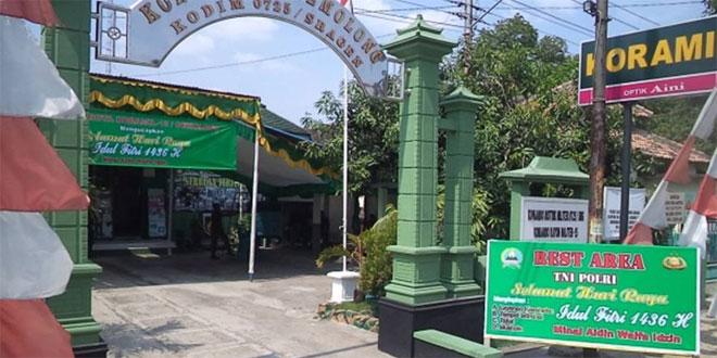 Rest Area Wujud Kepedulian TNI Pada Masyarakat