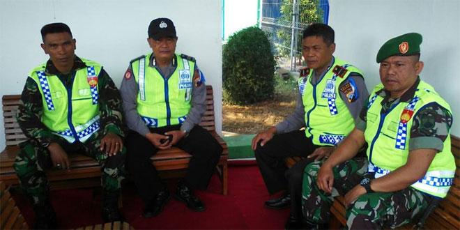 TNI Bersama POLRI Amankan Lebaran
