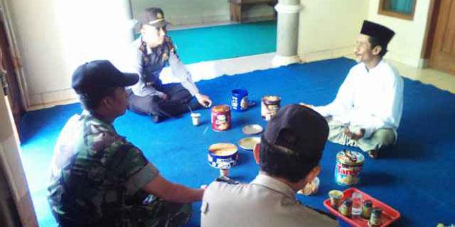 Danramil dan Kapolsek Subah Silaturahmi ke Ponpes