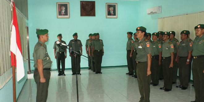 Laporan Korps Raport Perwira Kodim 0725/Sragen