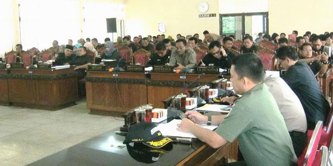 Rapat Paripurna DPRD Kabupaten Wonogiri