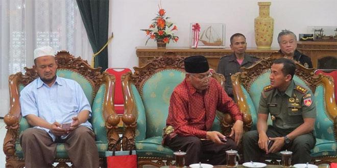 Silaturahmi Lintas Agama dan Jajaran FKPD Kab. Temanggung