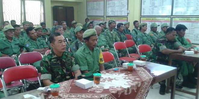 Koramil 05/Sleman Syawalan Bersama Linmas