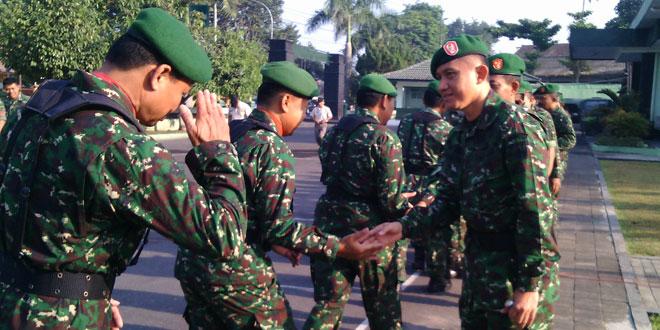 Syawalan Anggota Kodim 0732/Sleman