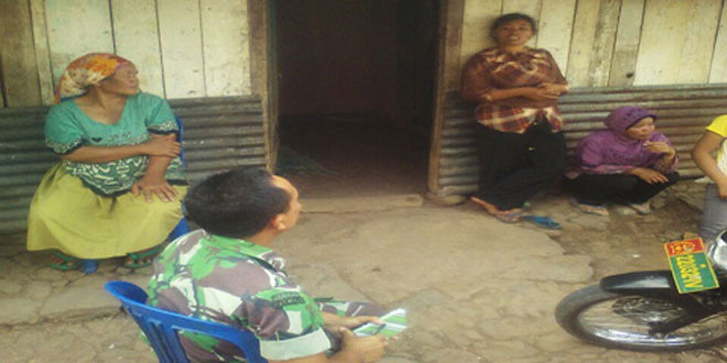 TNI Turun Mencari Orang Hilang