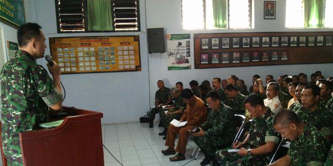 Jam Komandan Kodim kepada Seluruh Anggota Kodim 0732/Sleman
