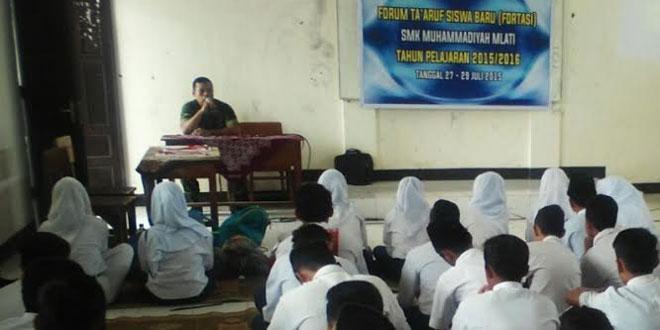 Wadanramil 12/Mlati Sosialisasikan Penerimaan Calon Anggota TNI