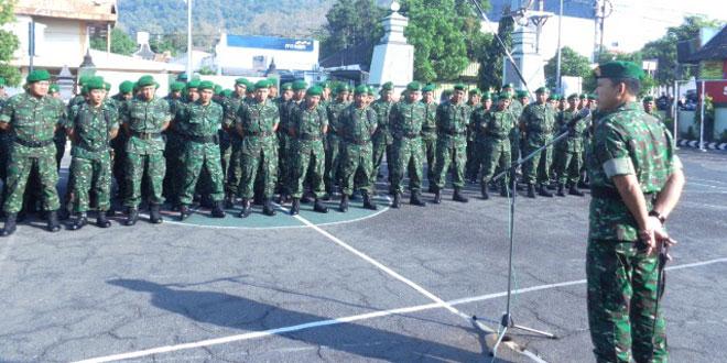 Minggu Militer Bulan Juli 2015 Kodim 0728/Wonogiri