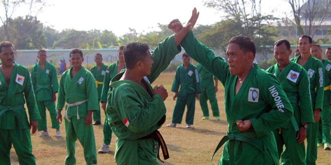 Kodim 0713/Brebes Latihan Bela Diri Yong Moo Do