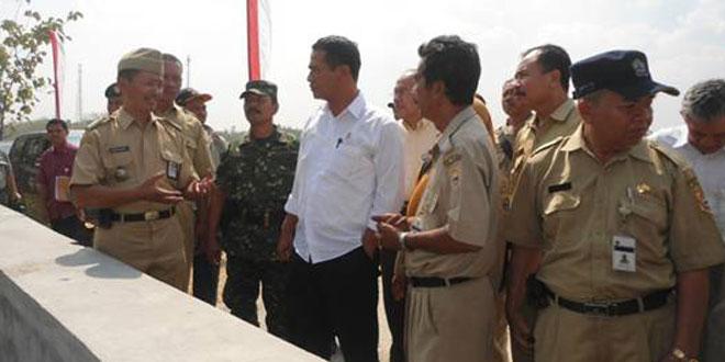 Kunjungan Kerja Menteri Pertanian RI di Desa Majenang Kec. Sukodono