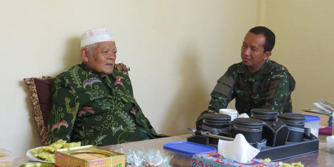Silaturahmi Dandim Wonosobo dengan Ketua MUI