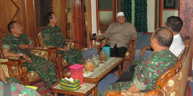 Dandim 0707/Wonosobo Silaturahmi dengan Pimpinan Ponpes