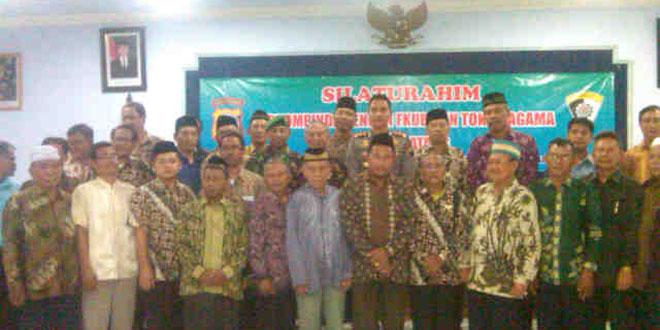 Silaturahmi Forkompinda dengan FKUBb & Toga se Kabupaten Batang