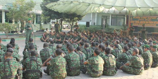Jam Komandan Kodim 0727/Karanganyar