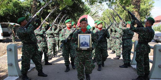 Upacara Pemakaman Militer Anggota Pepabri Kudus