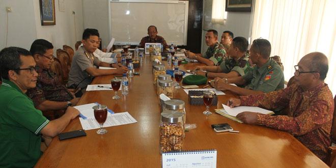 Dandim 0725/Sragen Rakor Forum Pimpinan Daerah Kab. Sragen
